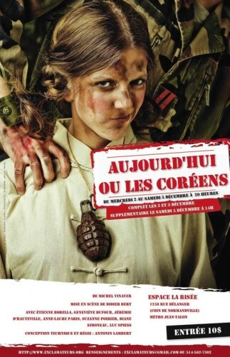 Conception et photo de l'affiche : Stéphane Najman / Photoman.ca. Graphisme affiche : Vincent Ferlat